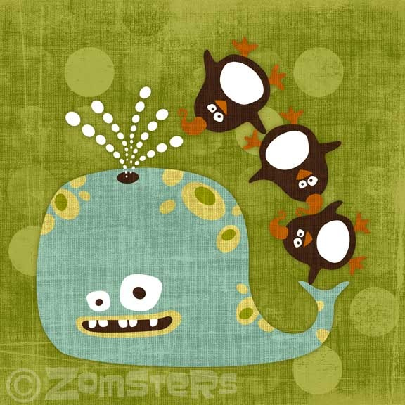 Zomsters!: Hugo 6X6, Etsy, Shops, 1500, Art, Zomster, 15 00, 6X6 Prints