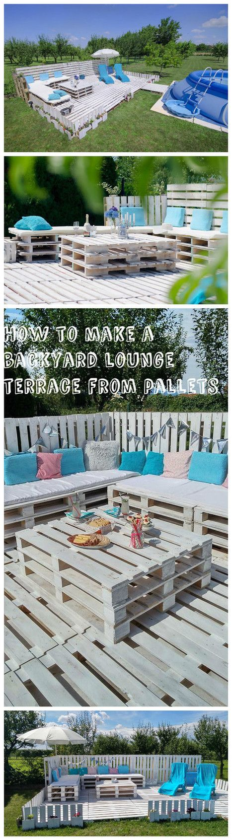 The Backyard Lounge/Party Terrace You Need For Your 2016 Summer | 1001 Pallets ideas ! | Scoop.it