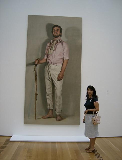 High Museum Atlanta, esp. michael Borremans' The Wanderer