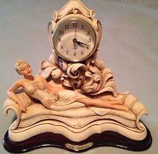 Ревущих 20-е годы арт-деко стиль-Чарльстон кварцевые каминные часы, подержанные, бесплатная доставка