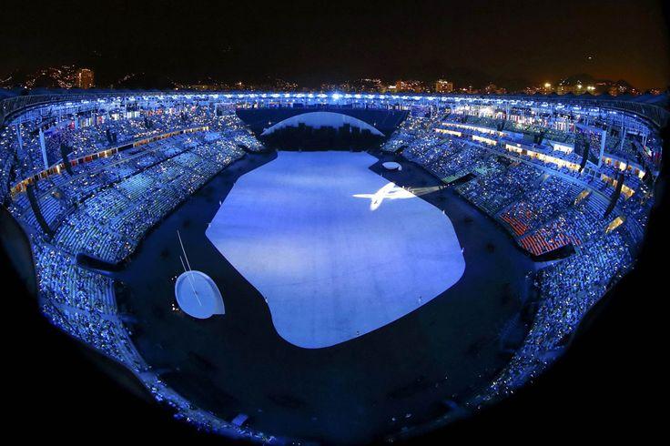 A festa e a cor da abertura dos Jogos Olímpicos