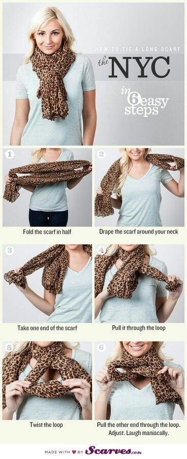 Reminds me I need another animal print scarf