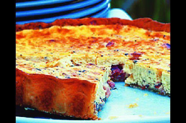 Slaný koláč - lotrinská quiche
