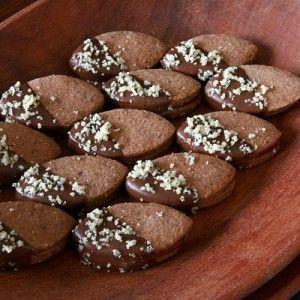 Pohankové čokoládové linecké