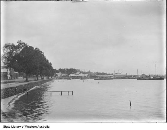 Perth Foreshore, 1905
