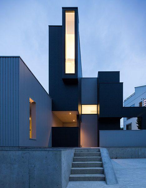 Scape House by FORM | Dezeen | minimalblogs.com
