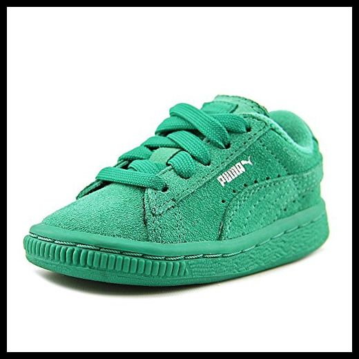 PUMA Suede Kids Sneaker (Toddler/Little Kid/Big Kid) , Simply Green/Simply Green, 4 M US Toddler