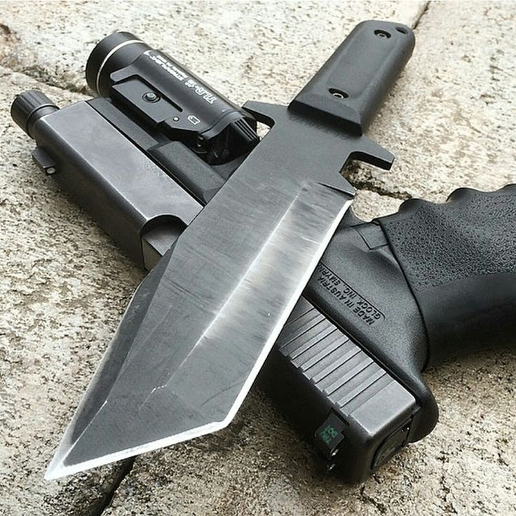 Cold Steel G.I. Tanto knife is a multi-purpose camping/survival knife