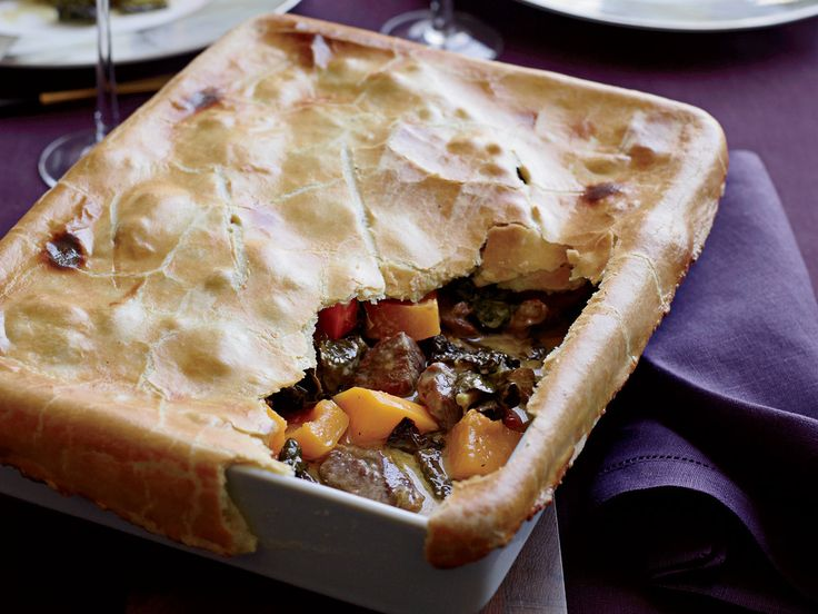 Curried Lamb Potpie | Luscious curried coconut lamb and squash stew is the base for chef Matthew Accarrino of SPQR in San Francisco's hearty potpie.