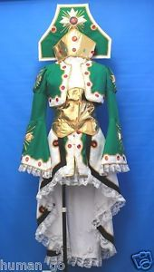 Trinity Blood Seth Nightlord Cosplay Costume Size M Human-Cos