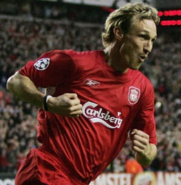 Sami Hyypia, an incredible defender even into his old age