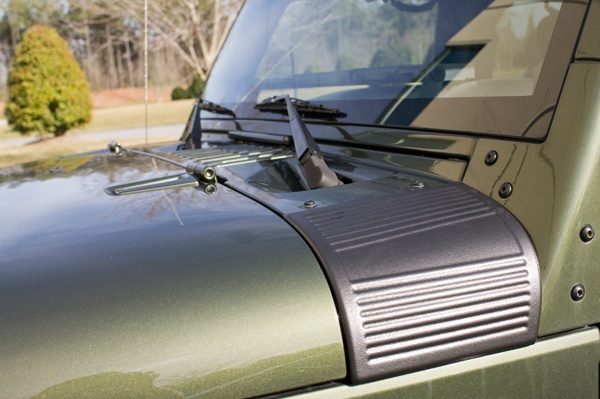 All Things Jeep - Black Cowl Body Armor by Rugged Ridge for Jeep Wrangler JK (2007-2013)