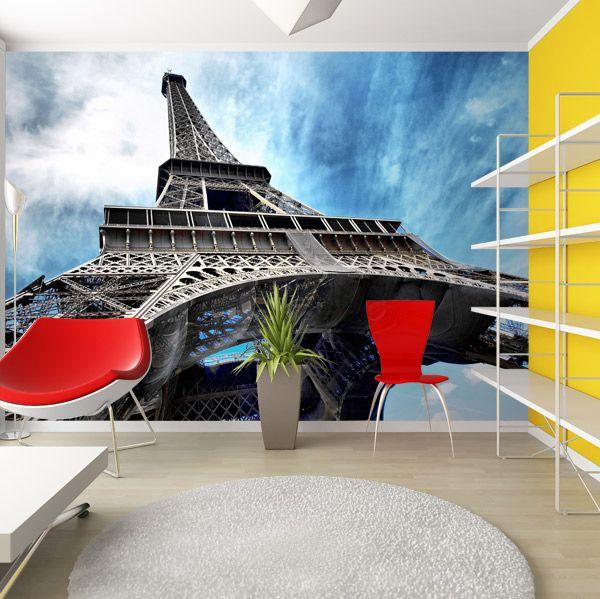 Fotomurales eiffel 2 tour eiffel pinterest vinilos for Mural habitacion juvenil
