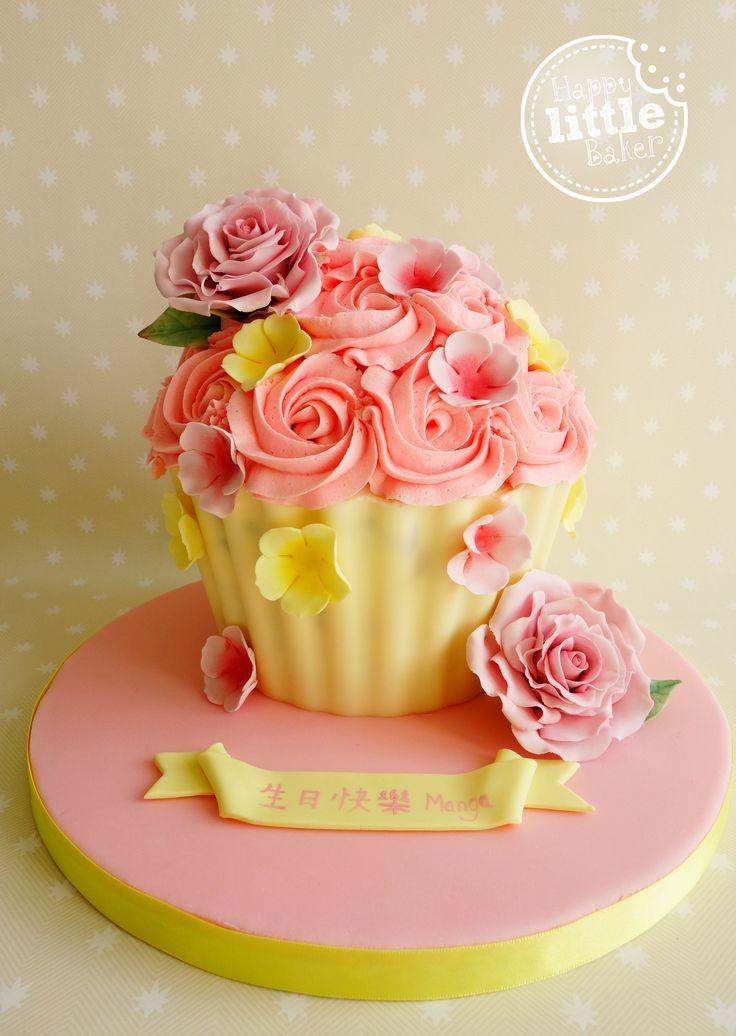 Sponge Cake Recipe For Giant Cupcake Mould