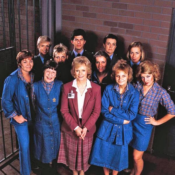 Prisoner/ Cell Block H; Australian Seventies TV Show set in Wentworth Detention Centre, watched this when I had assignments due for college and late night TV was all I had for company. Always & Forever a Classic.