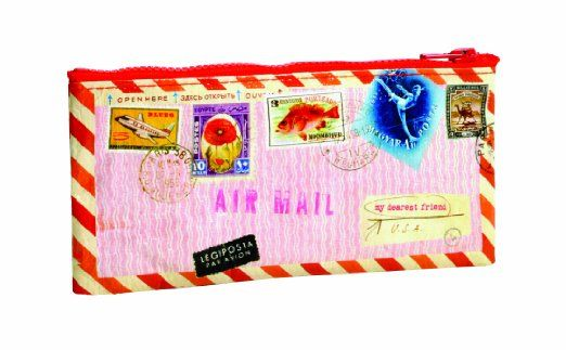Blue Q Airmail Pencil Case