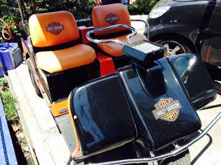 13 Best Images About Harley Davidson Golf Carts On Pinterest