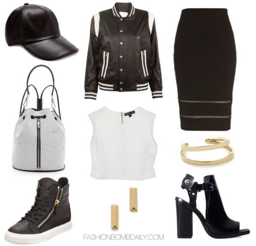How to Wear the Sporty Chic Tomboy Trend