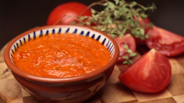 Recettes - Signé M - TVA - Ketchup rouge