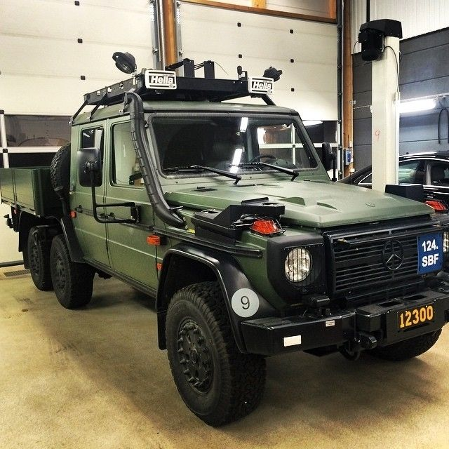 Mercedes benz 6x6 g class let 39 s go offroad photo hedinbilenkoping mbfanphoto mercedes - Classe g 6x6 ...