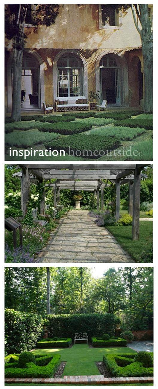 landscape design inspiration: six concepts
