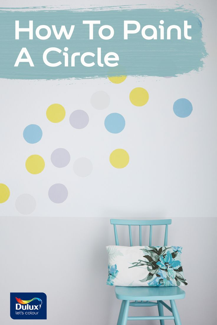 Painting the perfect circle can be painless! Let us show you how.