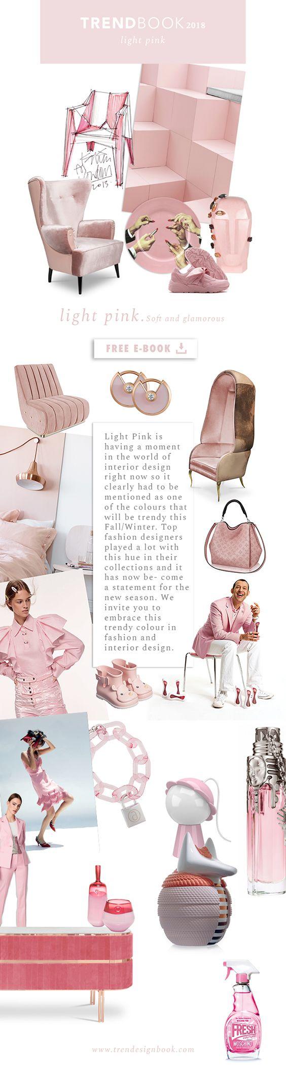 Moodboard Color Trends 2018 Light Pink