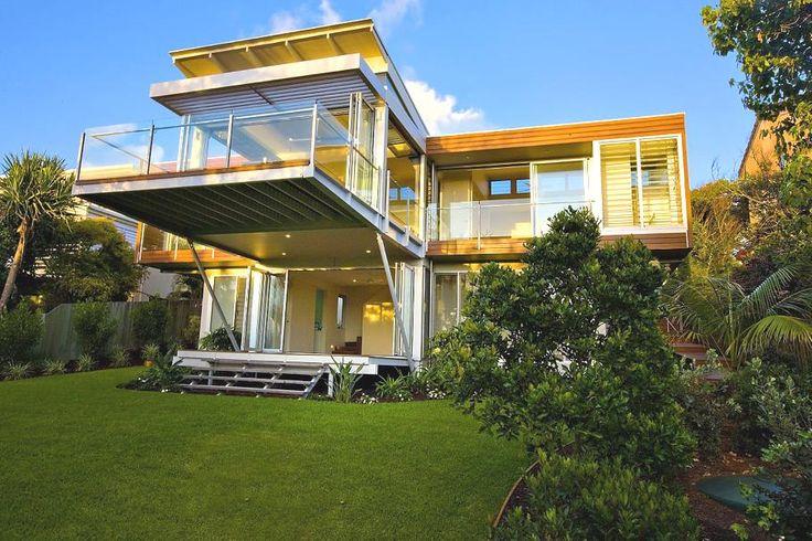 Australian-based design studio Robinson Architects has designed the Marcus Beach House on the Sunshine Coast of Queensland, Australia.