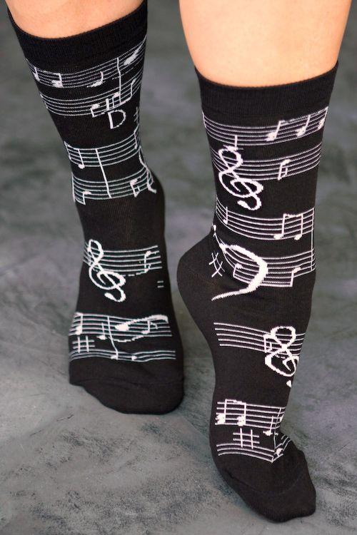 Music Notes Crews - sockdreams.com