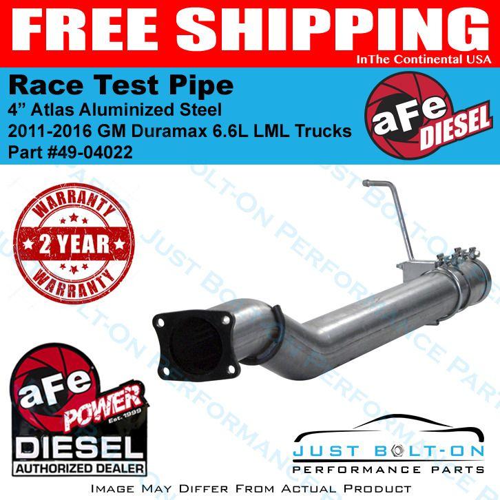 AFE Filters 49-04022 ATLAS Race Pipe