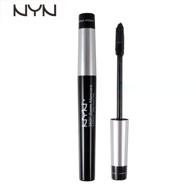 NYN Brand Automatic Flexible 360 Degree Mascara Black Lengthening Curling Eye Lashes Volume Colossal Rimel Mascara 3d Cosmetics