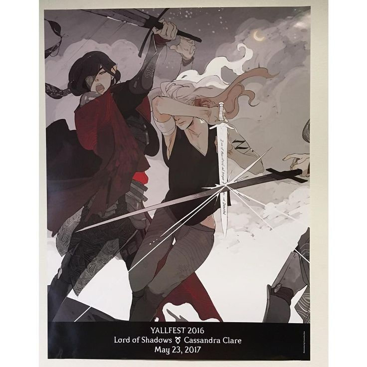 Emma Carstairs on an exclusive Lord of Shadows poster