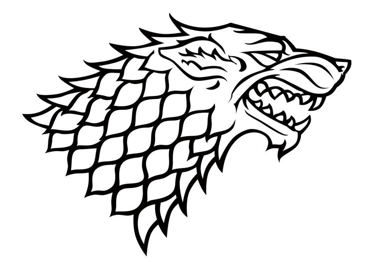 House Stark Sigil by DutchLion