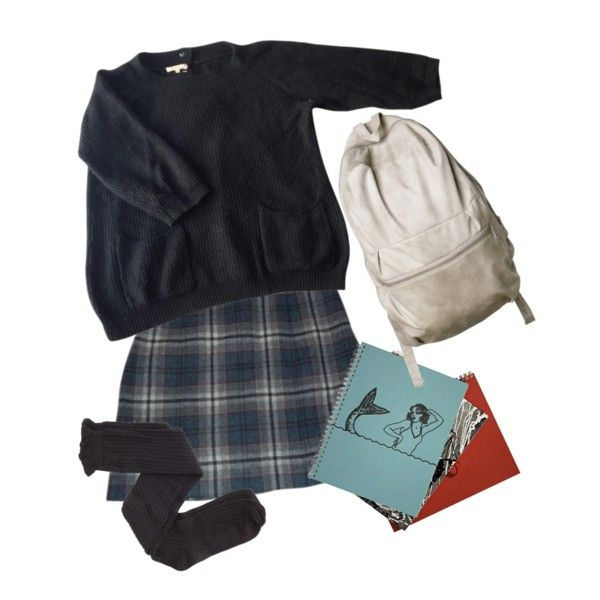 Finally Winter Break From School. by hunkulez on Polyvore featuring Sandro, Cacharel and Charlotte Russe