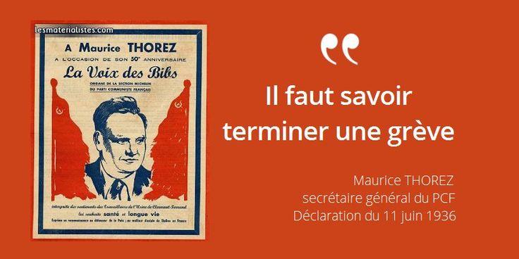 28 avril 1900 : naissance de Maurice Thorez, secrétaire général du PCF. Retour sur sa citation célèbre