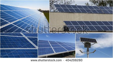 Solar Power Images with different perspective
