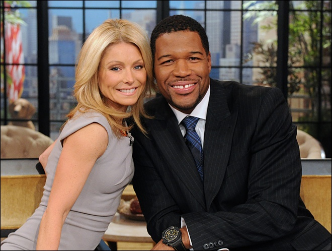 Kelly Ripa & Michael Strahan