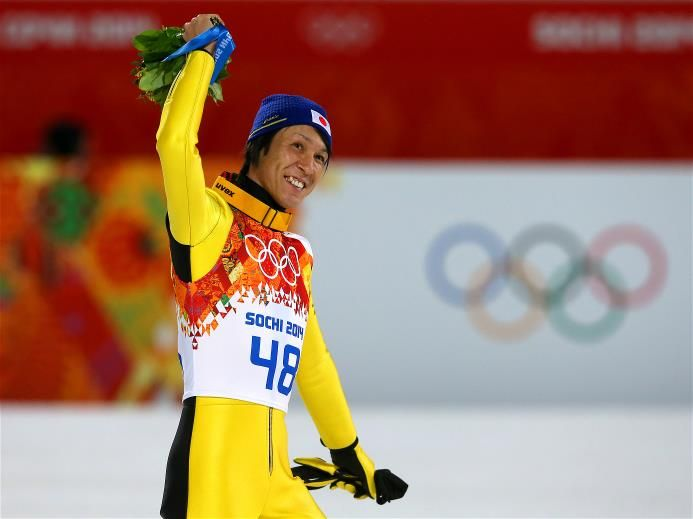 1000+ ideas about Noriaki Kasai on Pinterest | Ski jumping, Winter sports and Ski