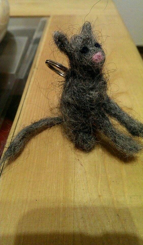 Cat needle felt