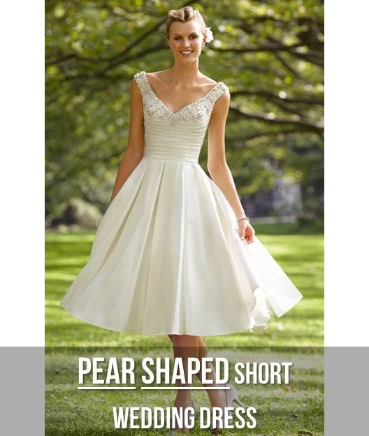 Your body shape and your wedding dress pear shaped for Wedding dresses for pear shaped women
