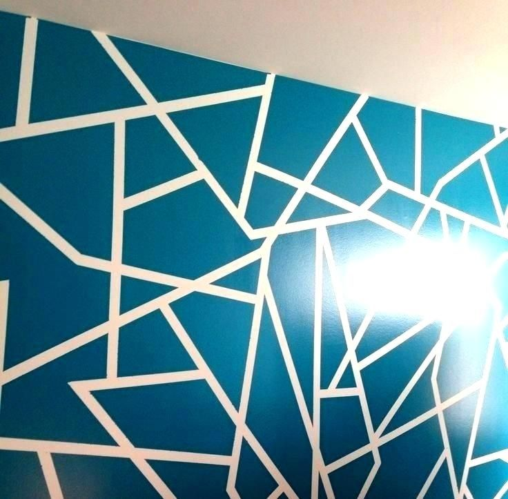 Wall Paint Patterns Geometric Diy Wall Paint Design Ideas Wall