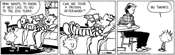 Calvin and Hobbes Comic Strip on GoComics.com