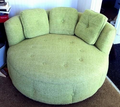 vintage round sofa 140 san francisco scavenger