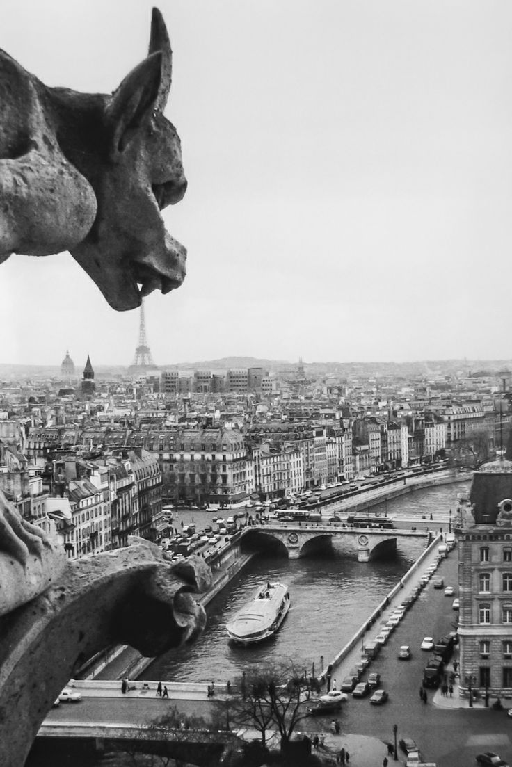 Robert Doisneau (1912 - 1994) - Paris, Notre-Dame, 1969