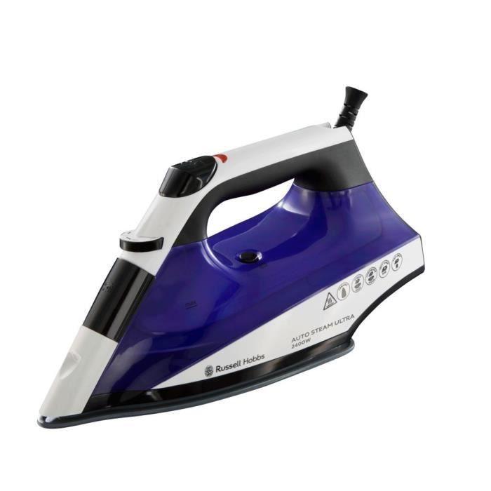 Russell Hobbs 22523 56 Fer Auto Steam 2400w Semelle Ceramique Fer A Vapeur Fer A Repasser Et Fer A Repasser Vapeur