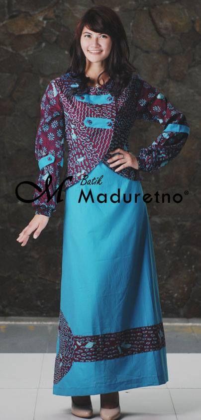 Abaya gamis batik kombinasi katun, Kode C-BY-30  Ready size L  Harga Rp.405,000, sms 081.703.166.751 or sms/call 081.934639088