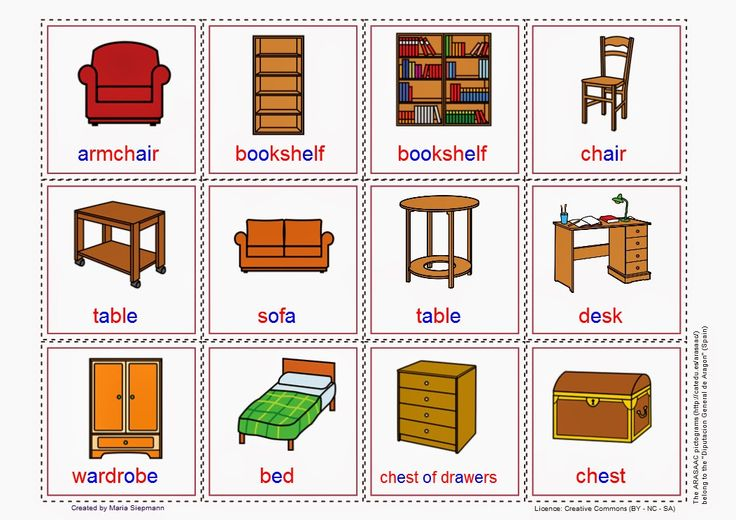 Cards: Furniture