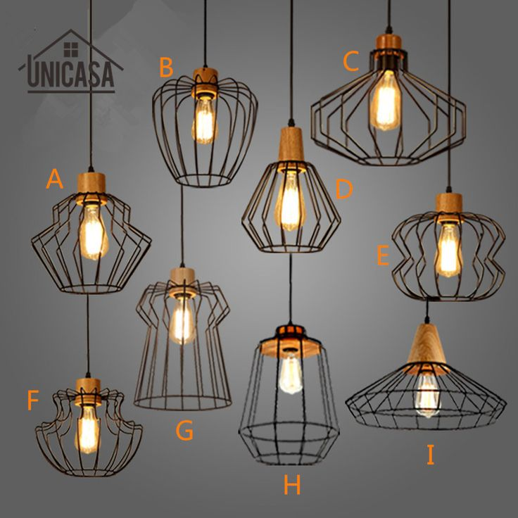 Cheap Light Fixtures Vintage Buy Quality Directly From China Modern Pendant Suppliers Industrial Wrought Lighting Wooden