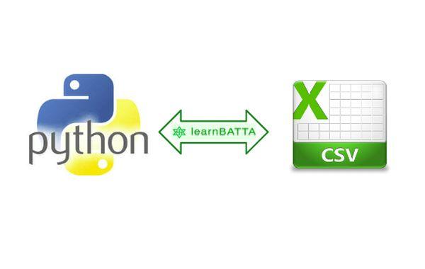 reading and writing csv files using python
