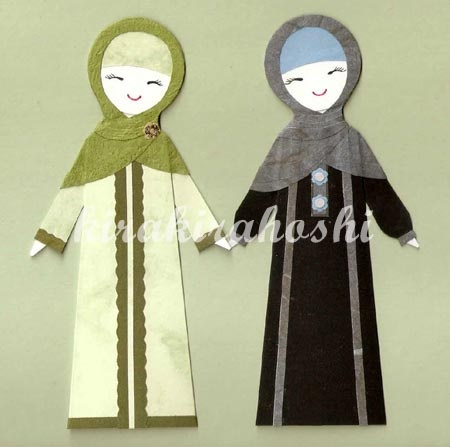 Muslim paper dolls